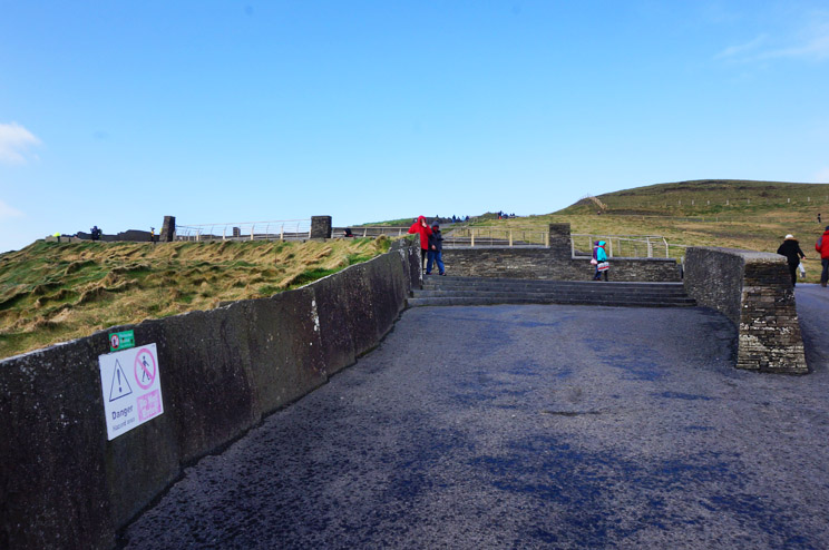 The Cliffs of Moher path