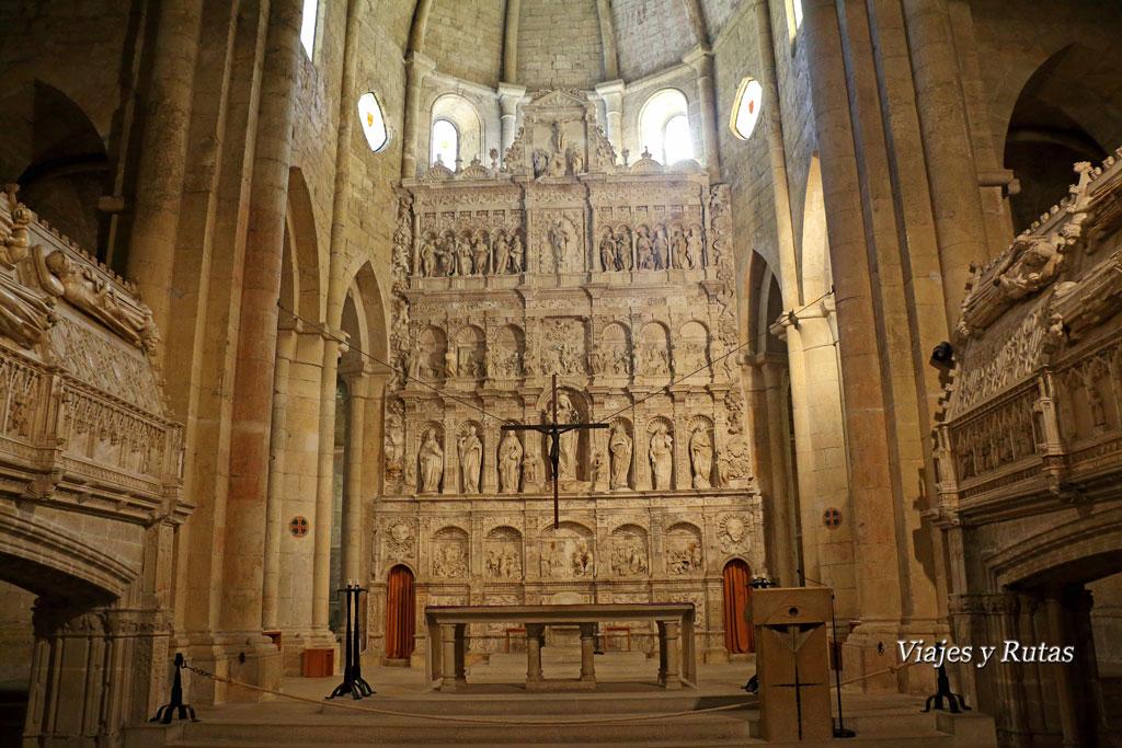 Retablo de la iglesia del Monasterio de Santa María de Poblet, Tarragona