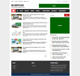 CB Super SEO - Template Blog SEO Simple Terbaru Zaman Now