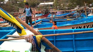 Perahu Nelayan Pantai Gesing