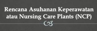 Rencana asuhan keperawatan menyediakan sarana komunikasi bagi perawat , pasien dan petugas kesehatan lainnya