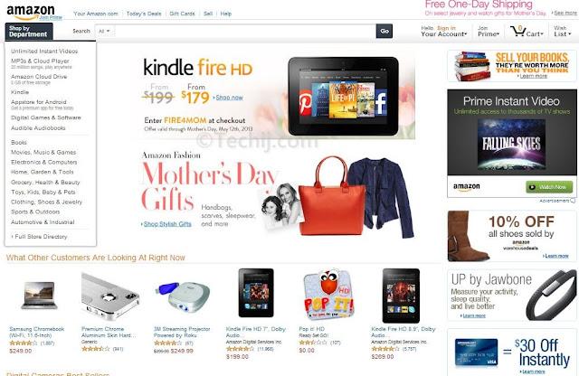 Amazon new Design