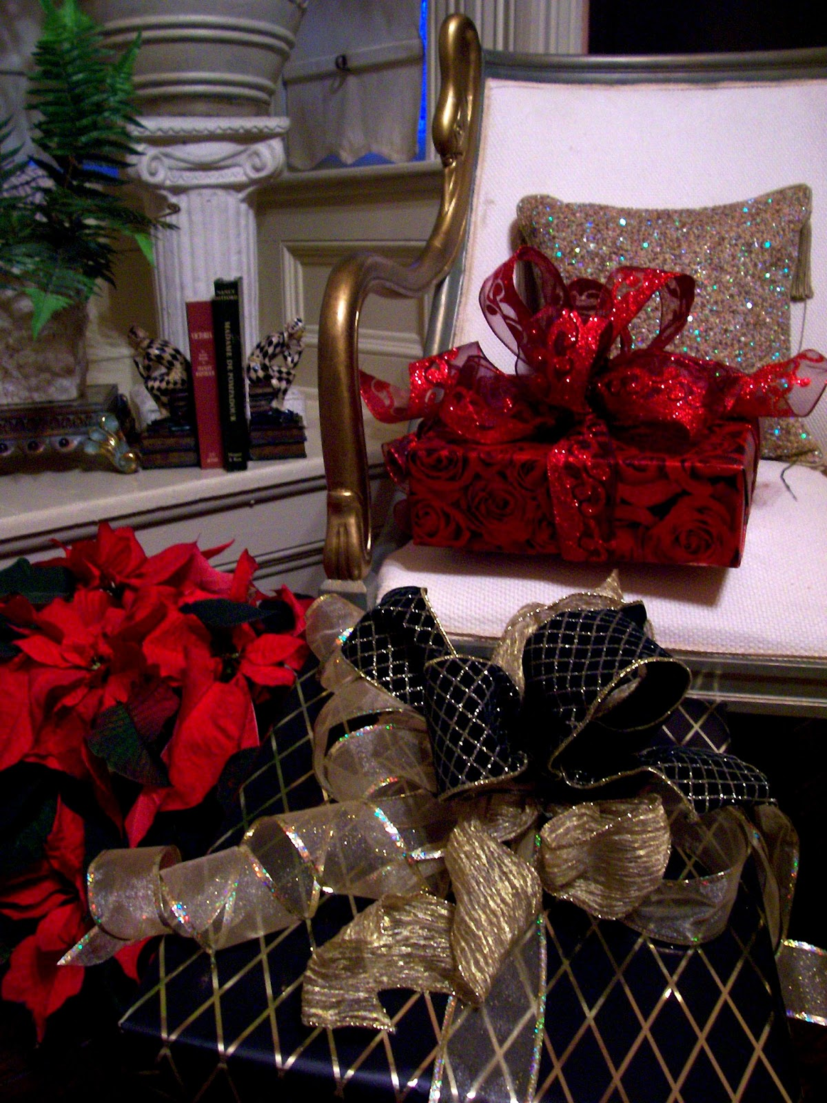 our personal shopping valet and gift presentation services are your solutions to gift giving below are samples of christmas packages that have been wrapped - Christmas Packages