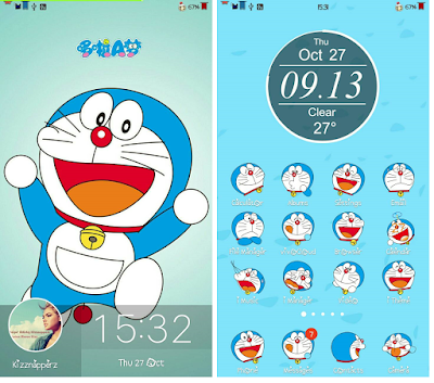 Doraemon Theme For Vivo