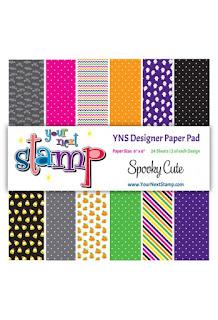 Designer Paper Pad Spooky Cute