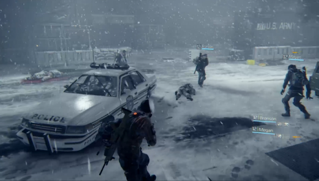 Tom Clancy's The Division 2015 build Ubisoft E3 conference multiplayer