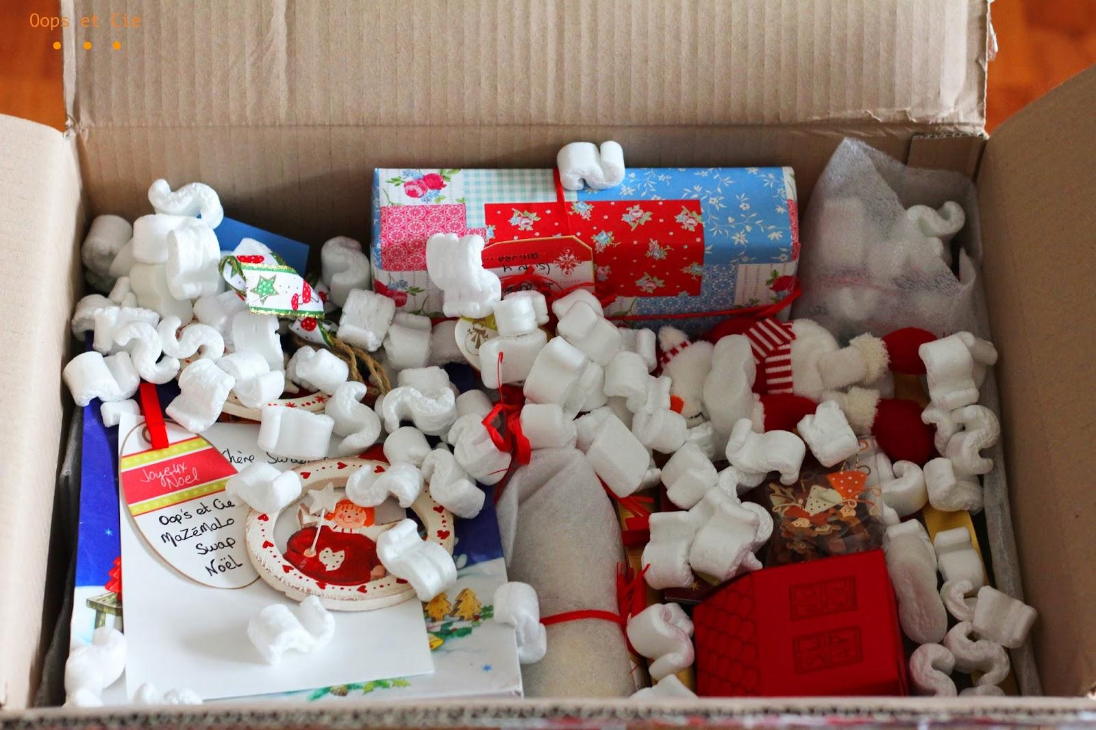 Très Oops & Cie: Swap de Noël, l'ouverture du colis MO34