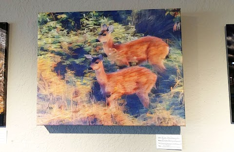 Selling my First Painting at the Local Art Center - $175