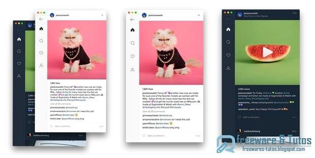 Ramme : un client Instagram pour votre ordinateur