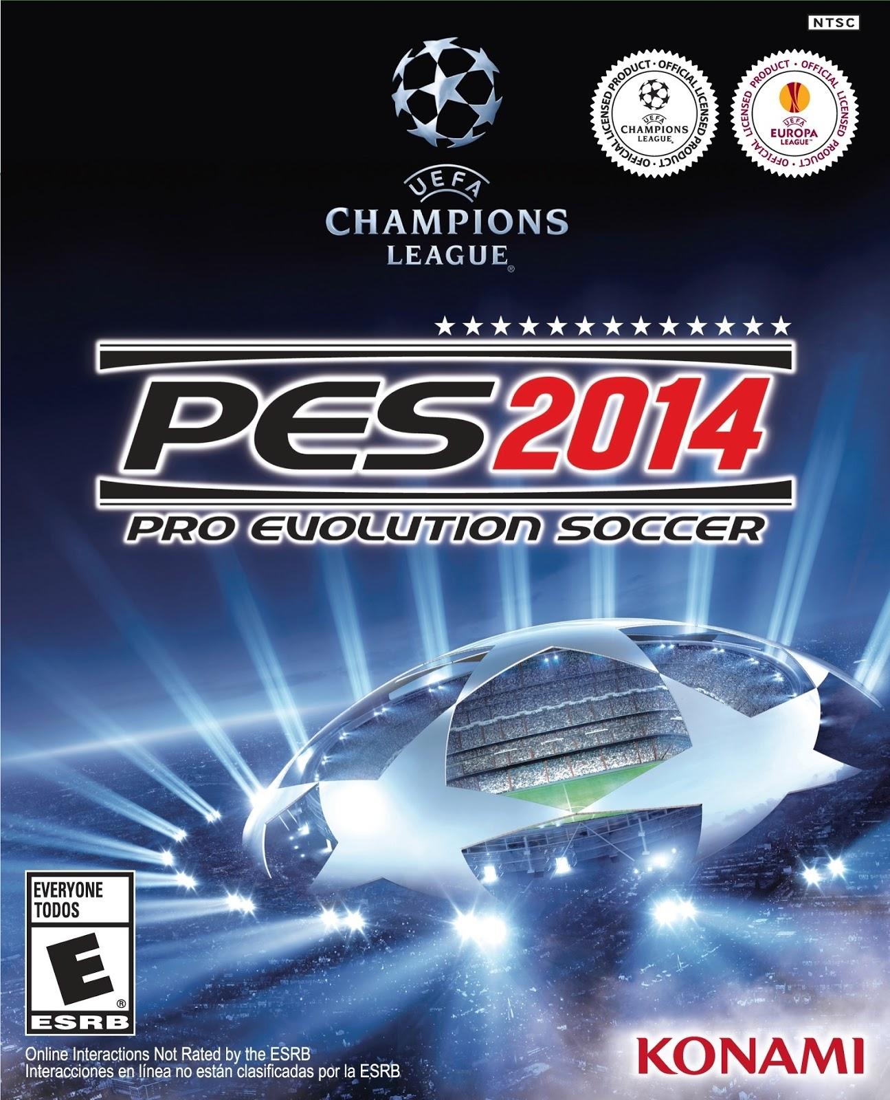 تحميل لعبة بيس 2014 علئ البلايستيشن 2 Download Pro Evolution