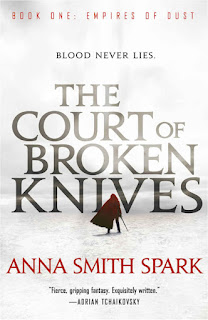 Interview with Anna Smith Spark, author of The Court of Broken Knives