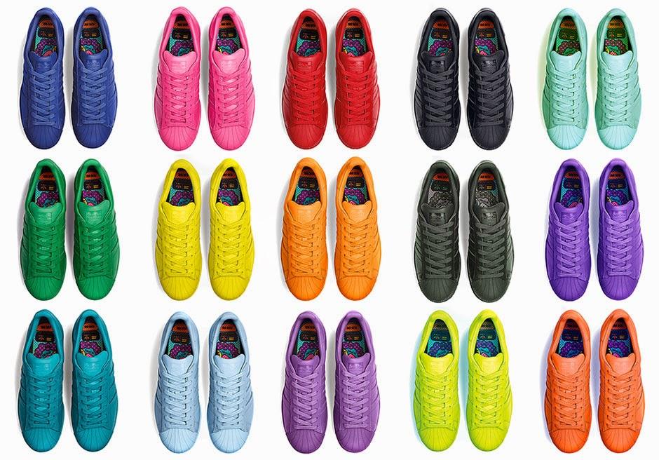 hot sale online a7b37 2487c SeeStyled: Pharrell X Adidas Original Superstar X Supercolor ...