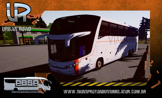 Skin Proton Bus Simulator Road - G7 1600 LD Scania K420 Via Energya