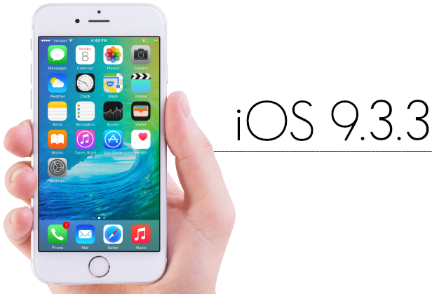 Download iOS 9.3.3 IPSW