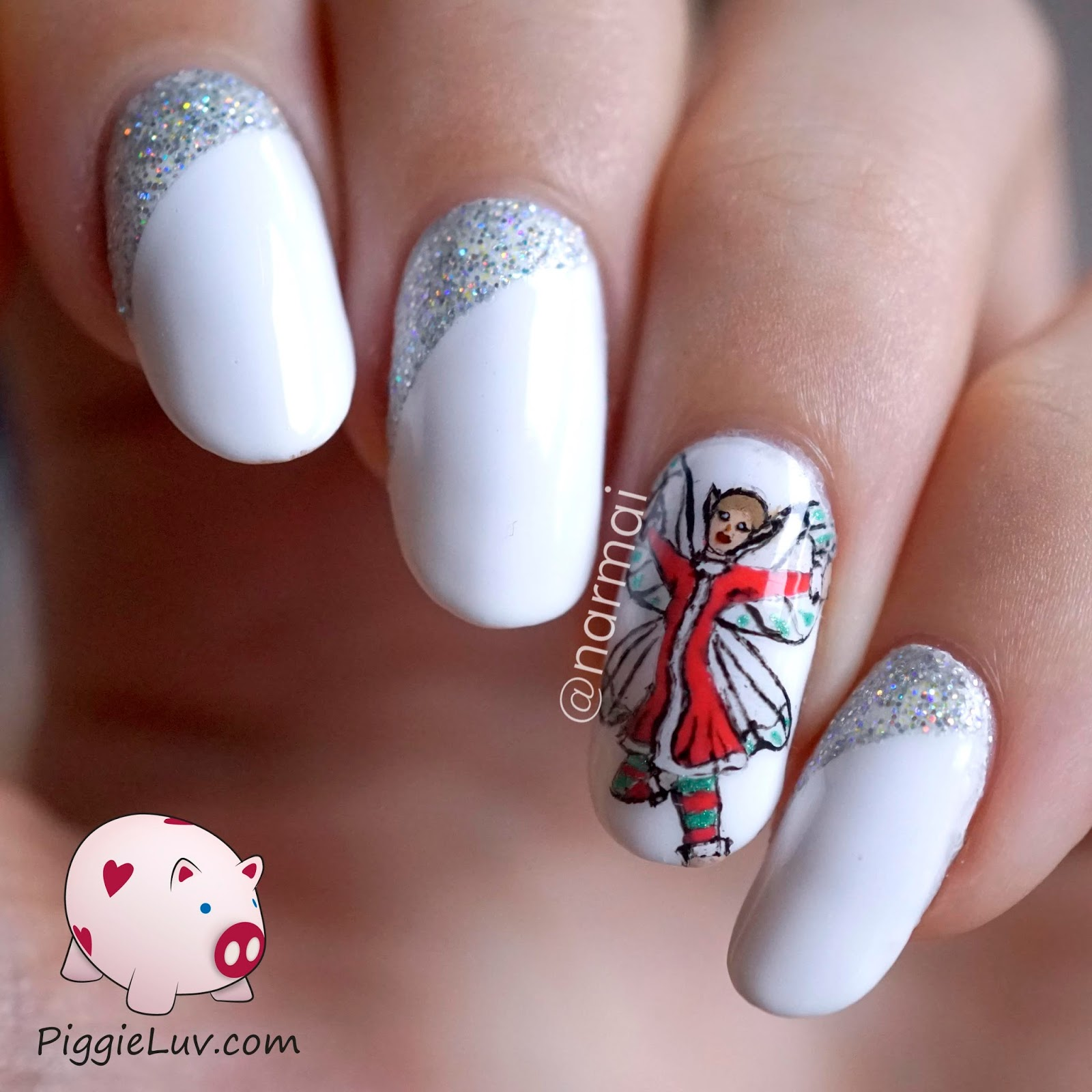 Christmas Nails Elf: PiggieLuv: Glow In The Dark Christmas Elf