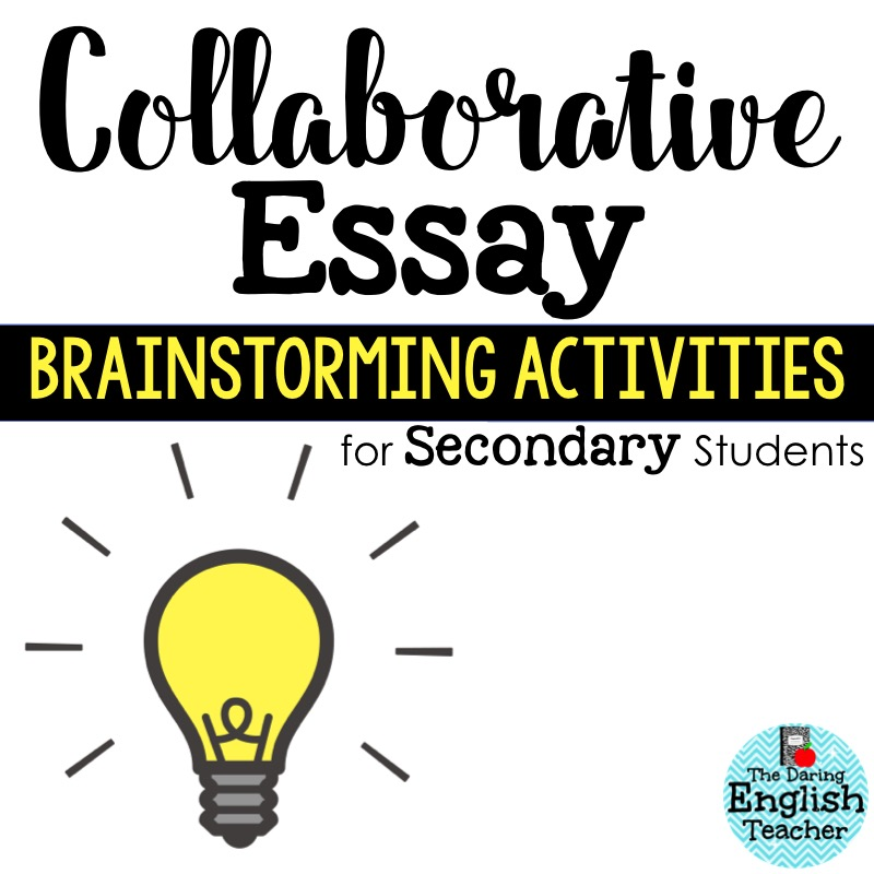 Collaborative essay with group