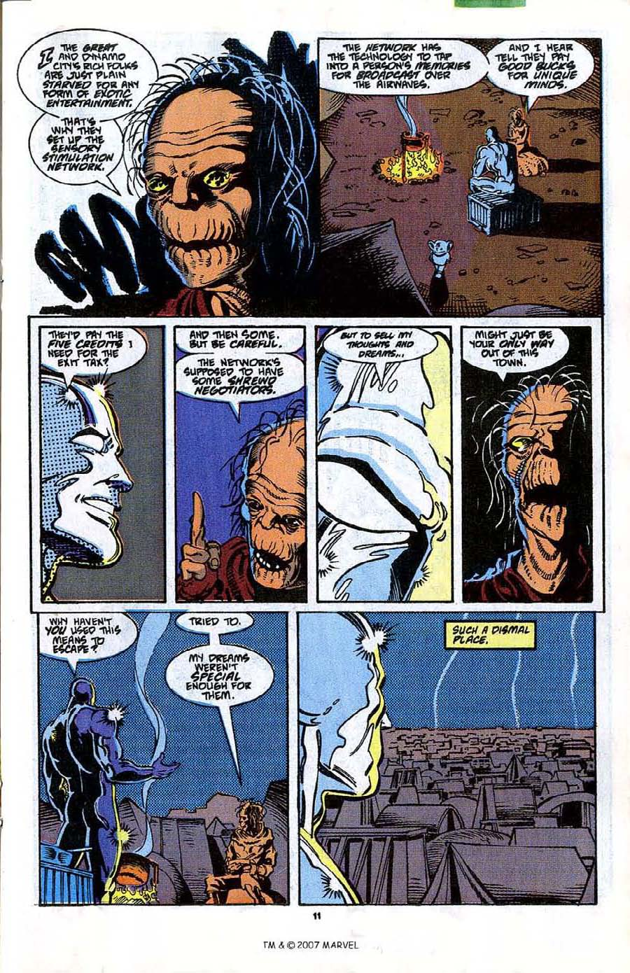 Read online Silver Surfer (1987) comic -  Issue #41 - 13