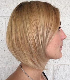 Short Blonde Balayage Hair