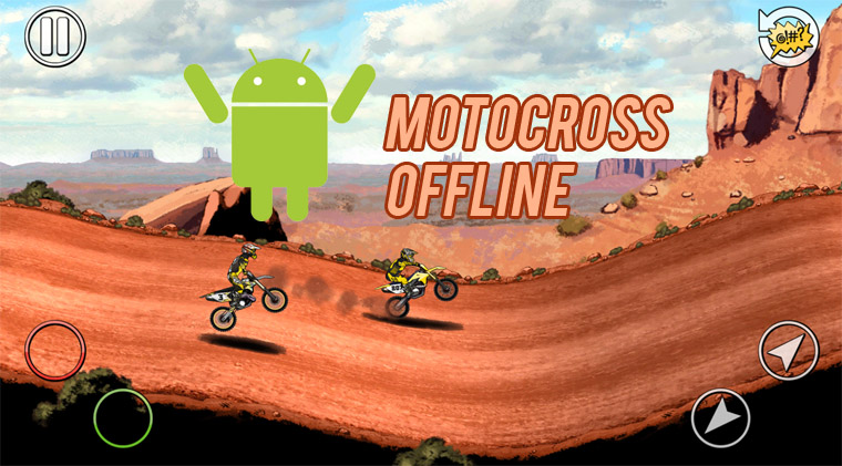 5 Game Motocross Offline di Android