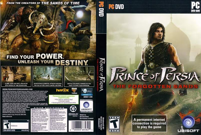 تنزيل لعبة الاكشن والمغامرات Prince of Persia - The Forgotten Sands كاملة