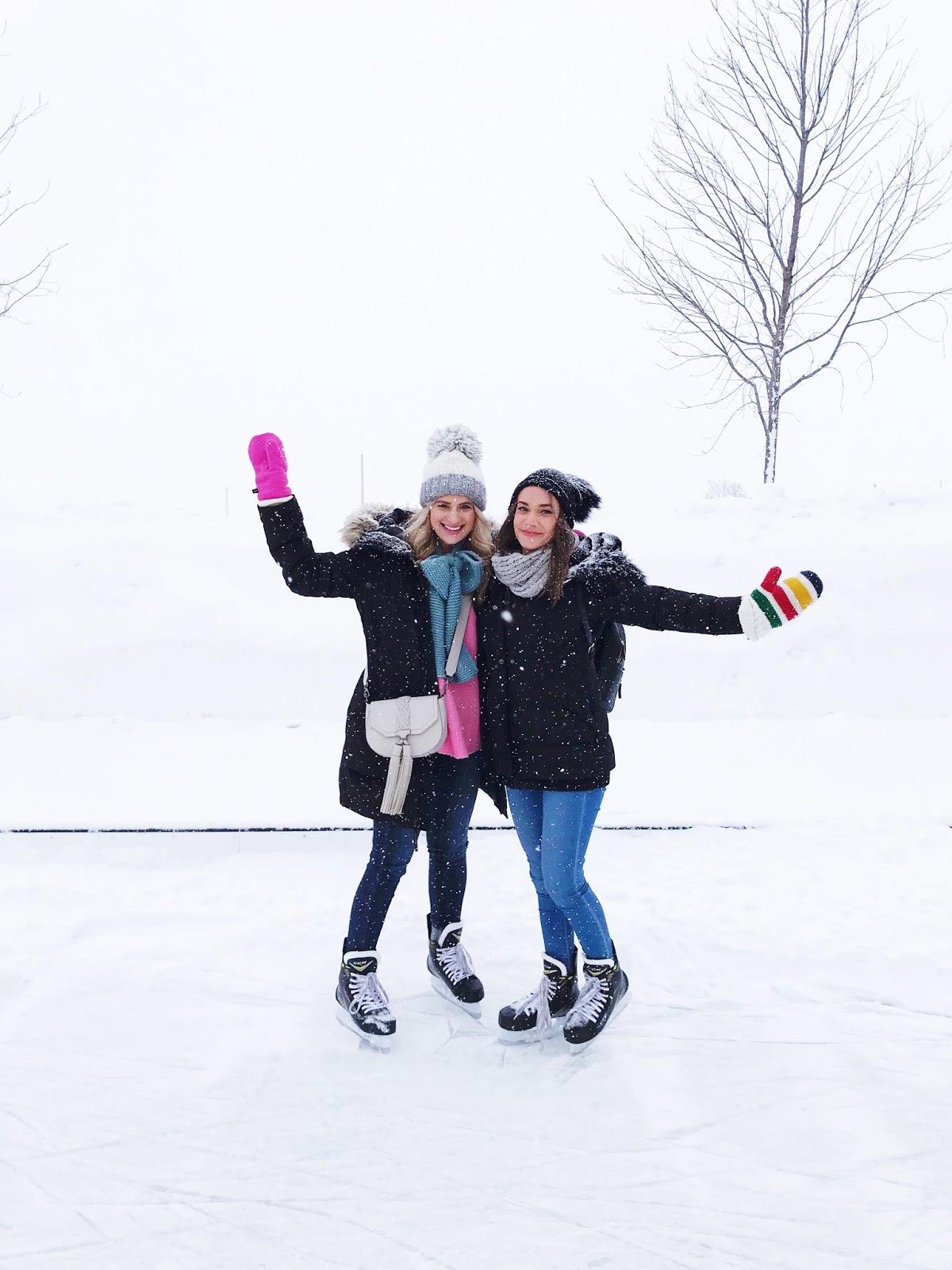 Bijuleni | How To Unwind at White Oaks Resort & Spa, Niagara on the Lake | Girls Weekend Getaway| Skating in style