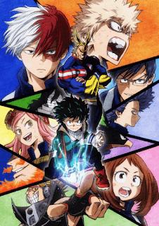 تقرير أنمي اكاديمية بطلي الموسم الثاني Boku no Hero Academia 2nd Season