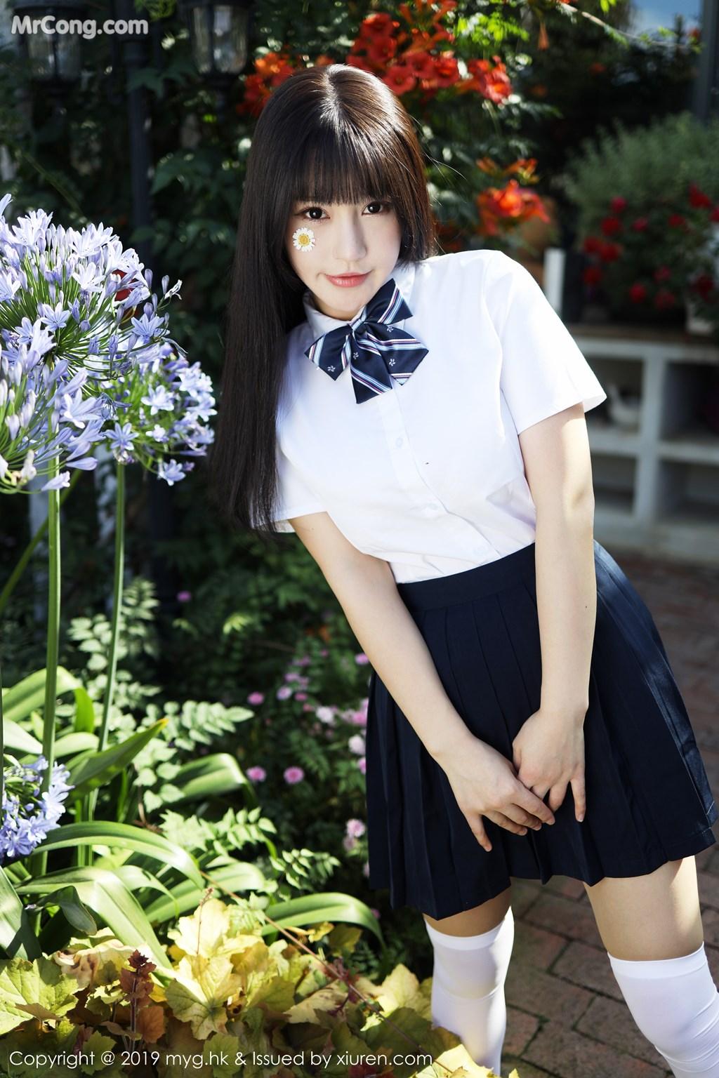 MyGirl Vol.394: Zhu Ke Er (Flower 朱 可 儿) (55 pictures)