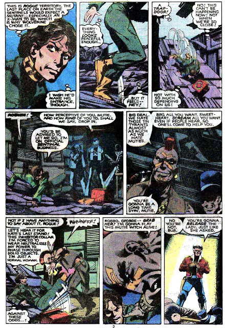 X-men v1 #141 marvel comic book page art by John Byrne