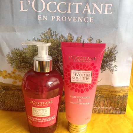 L'Occitane Peony Perfecting Collection ~ #Review