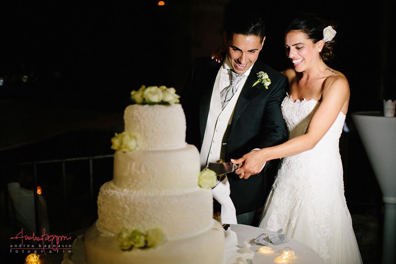 taglio torta nuziale matrimonio Genova
