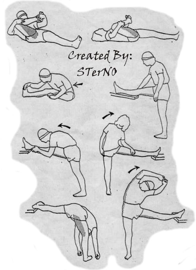 Latihan ketegangan untuk otot hamstring