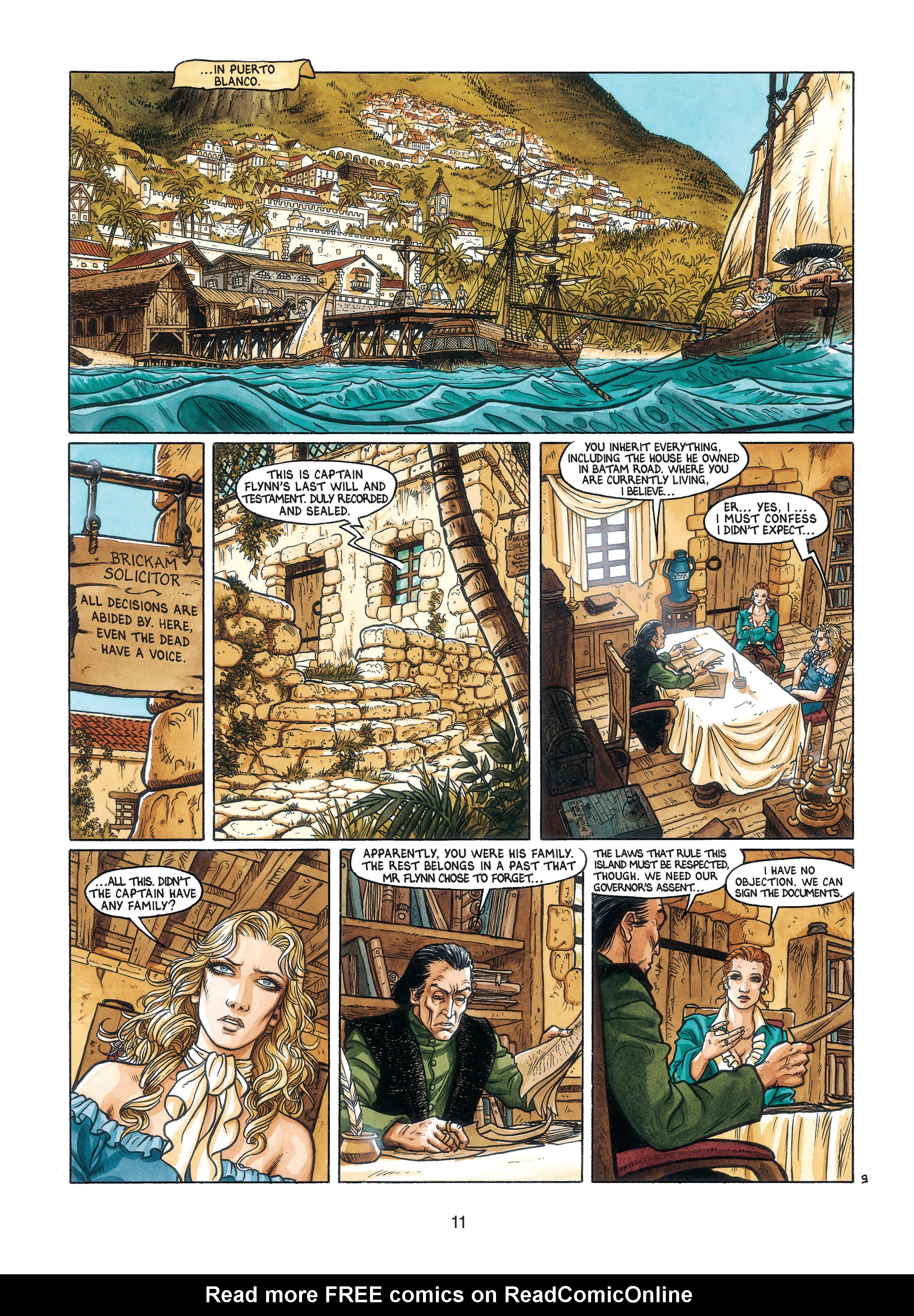 Read online Barracuda comic -  Issue #3 - 12