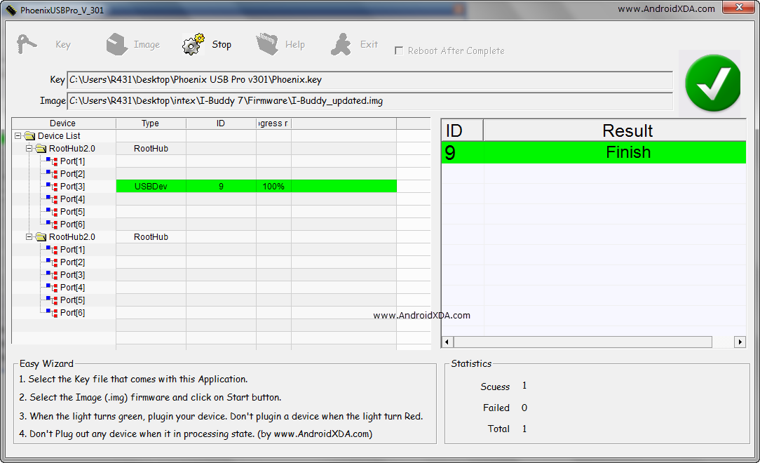 Steps to use Phoenix USB Pro Flashing Tools | nplhacker