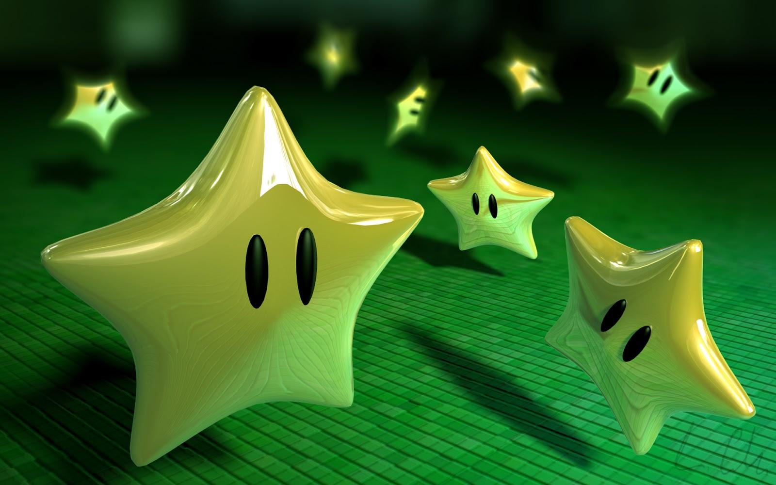 Estrellas Del Juego Super Mario