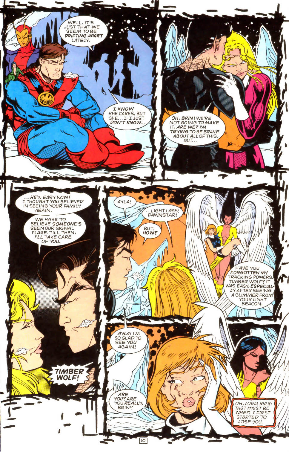 Legion of Super-Heroes (1989) 52 Page 10