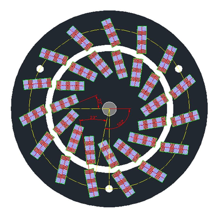2995ff5052e A constituição desta máquina prevê a instalação de 3 peças magnetos de  neodímio em série