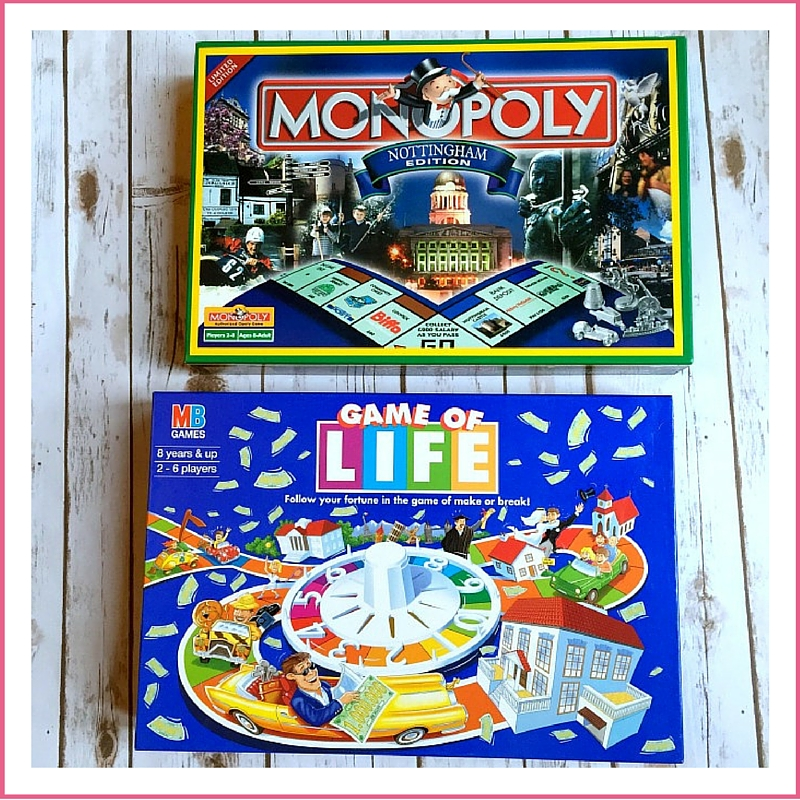3 Ways to Spend Time With The Family (away from screens) | Morgan's Milieu: Monopoly and Scrabble are great family games.