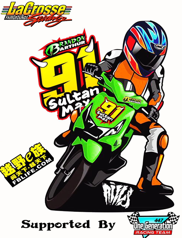 Gambar Motor Racing Kartun Galeriotto