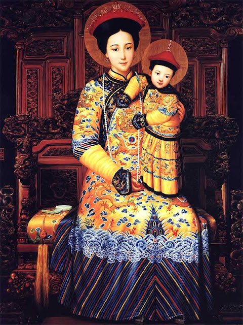 Our Lady, Holy Mother, Mary, Jesus, China