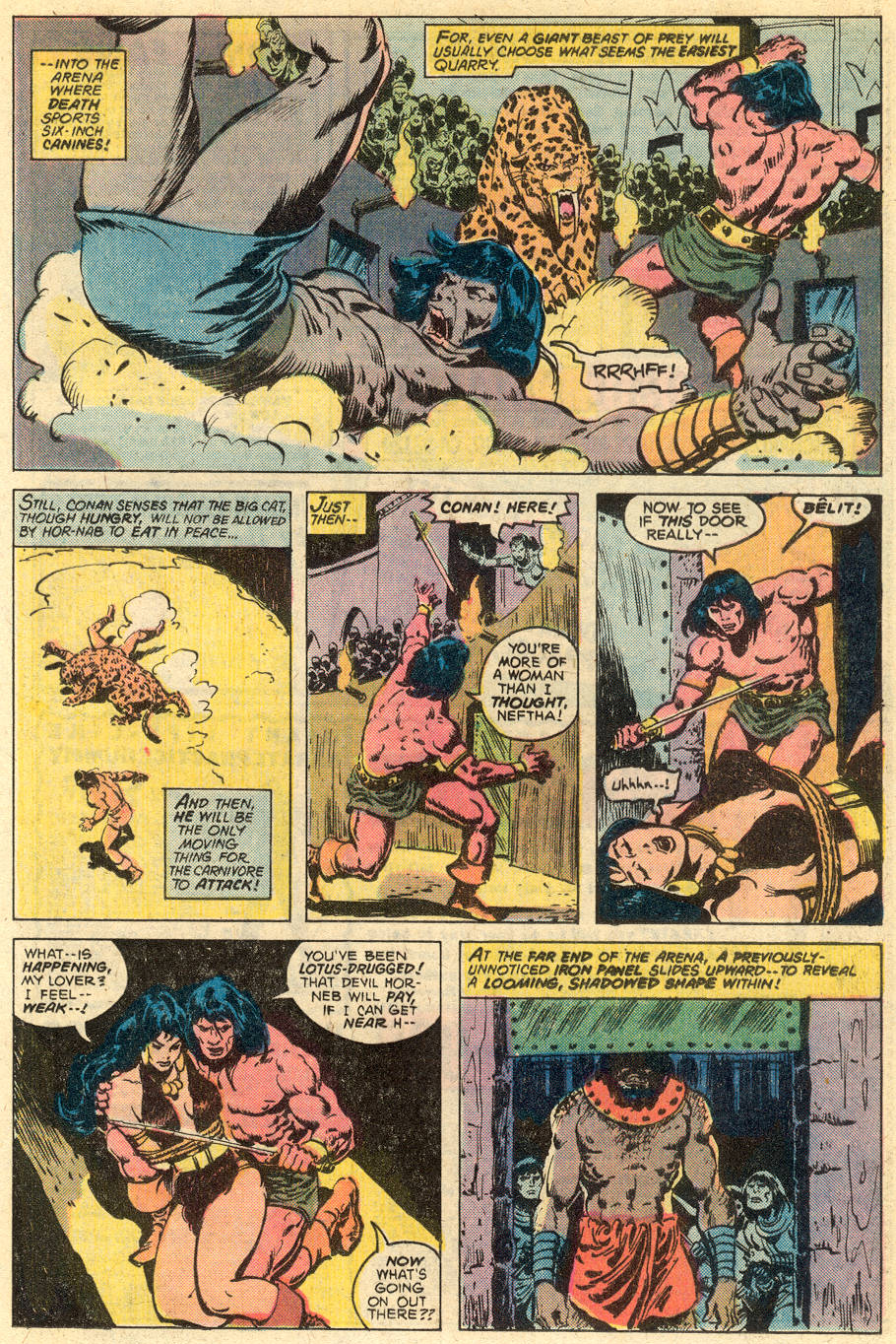 Conan the Barbarian (1970) Issue #77 #89 - English 14