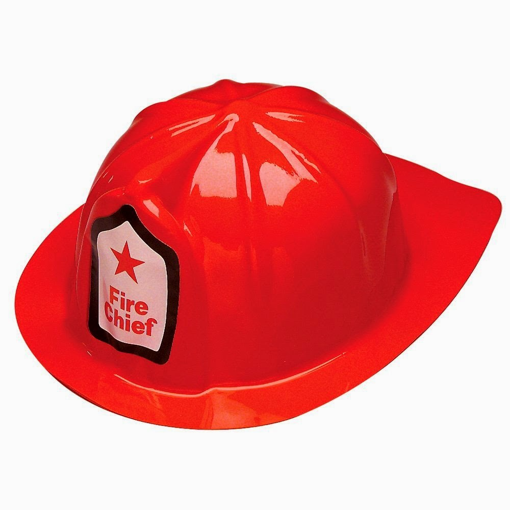 fire chief hats classroom set