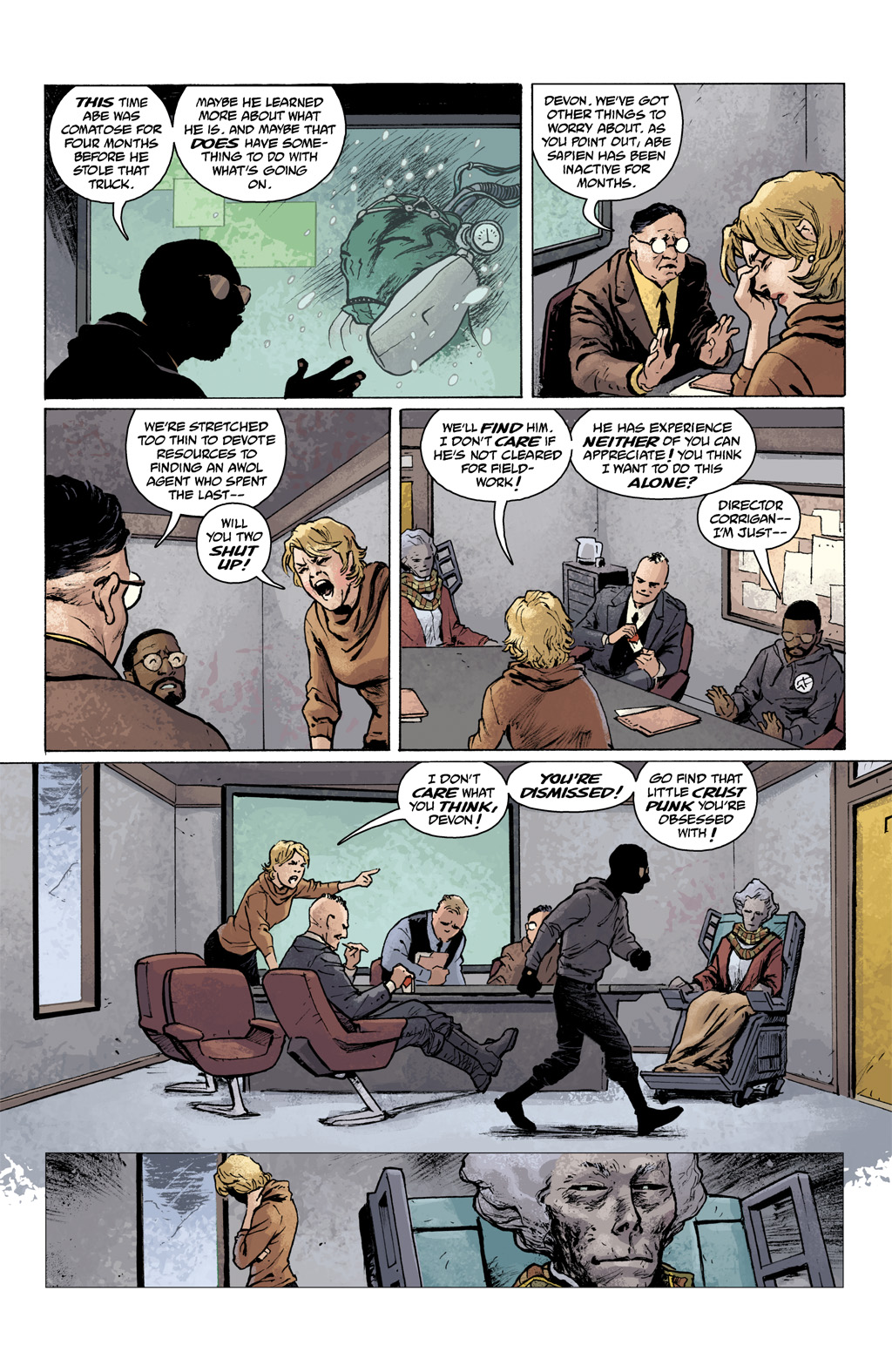 Read online Abe Sapien comic -  Issue #1 - 9