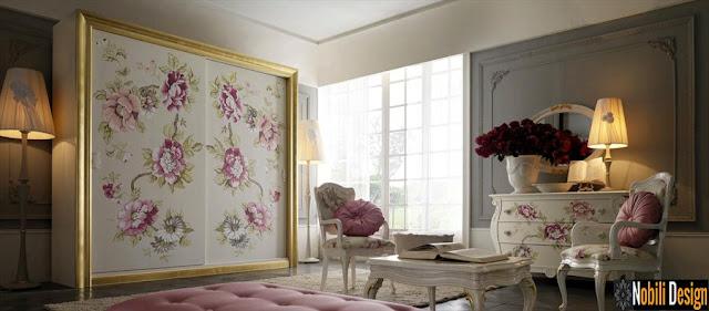 Mobilier_italian_dormitor_online | Dormitoare_clasice_albe_Italia_pictate.