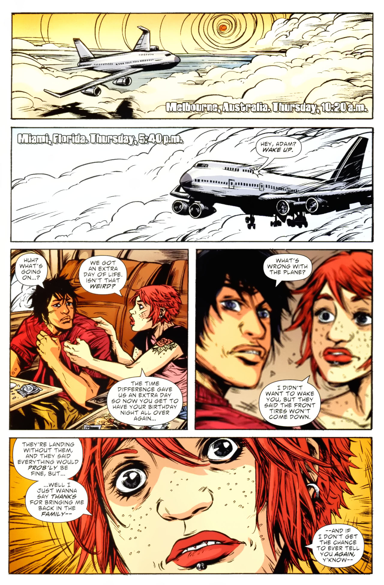 Read online American Virgin comic -  Issue #9 - 22