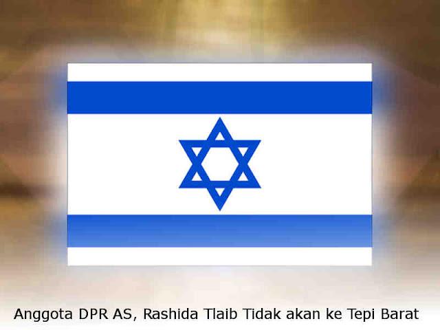 Anggota DPR AS, Rashida Tlaib Tidak akan ke Tepi Barat