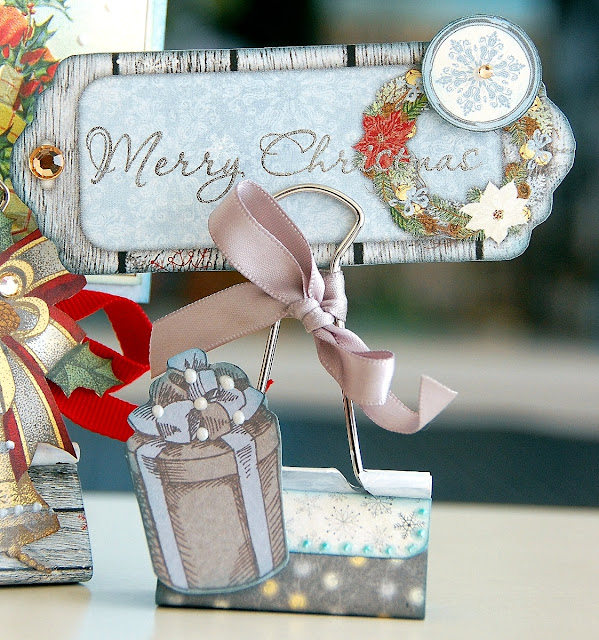 Party Table Decor by Irene Tan using BoBunny Tis The Season Collection