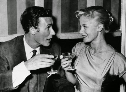 Osborne and Mary Ure in August 1957