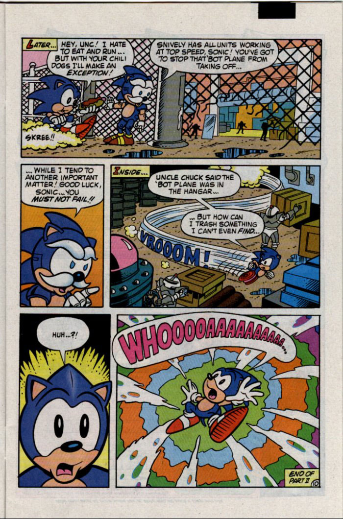 Archie's Sonic the Hedgehog, or The Ride MK II: SV Edition