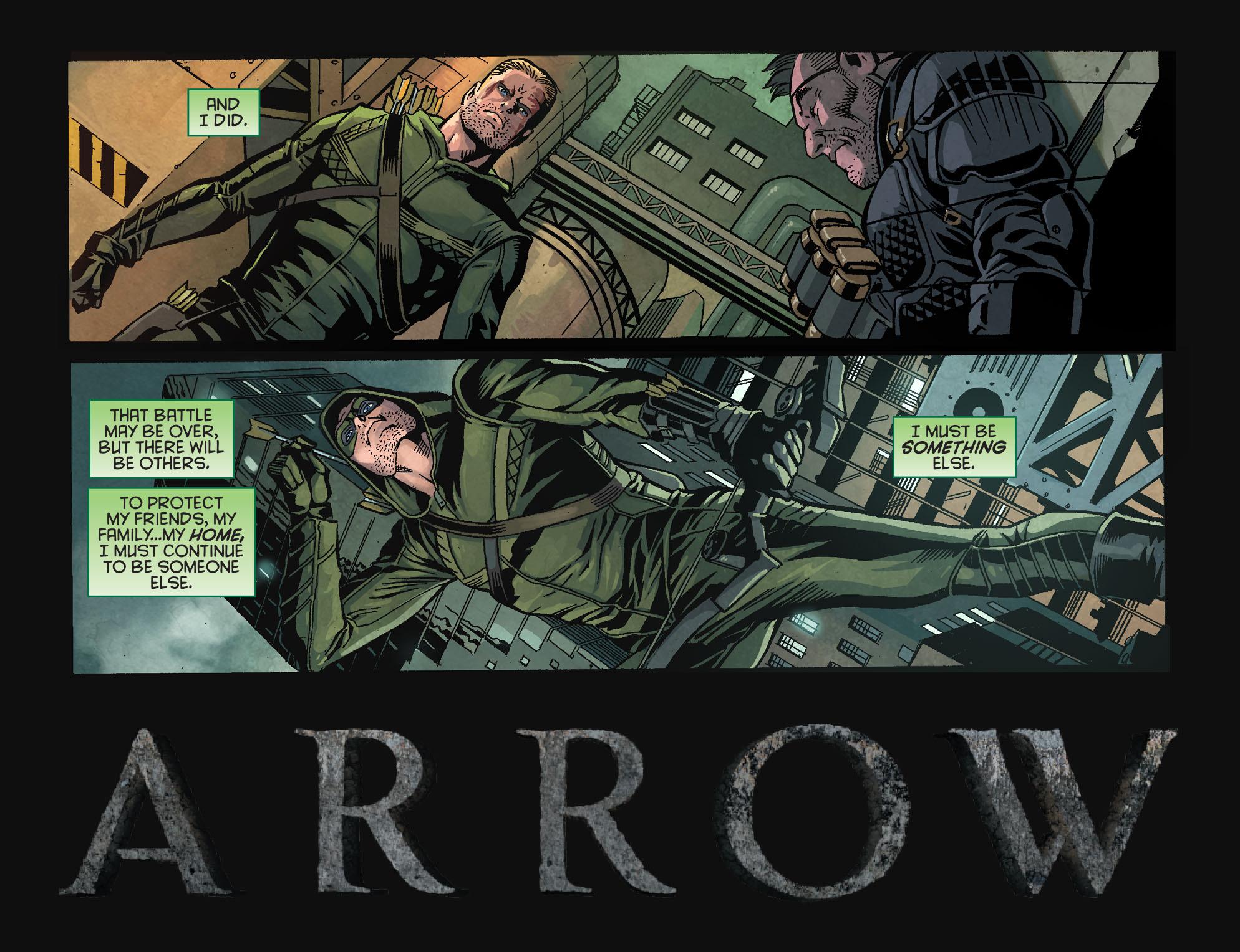 Read online Arrow: Season 2.5 [I] comic -  Issue #1 - 4