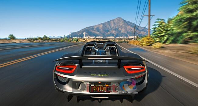 لعبة جاتا GTA V